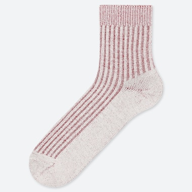 MEN RIBBED HALF LENGTH SOCKS