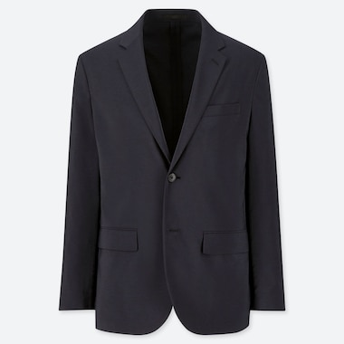 MEN KANDO JACKET (WOOL LIKE), NAVY, medium