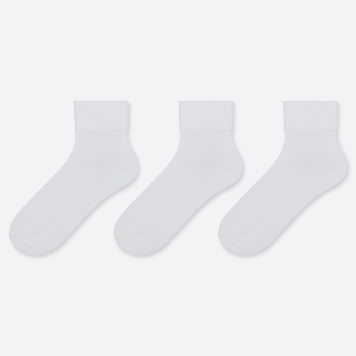 WOMEN HALF LENGTH SOCKS (THREE PAIRS)