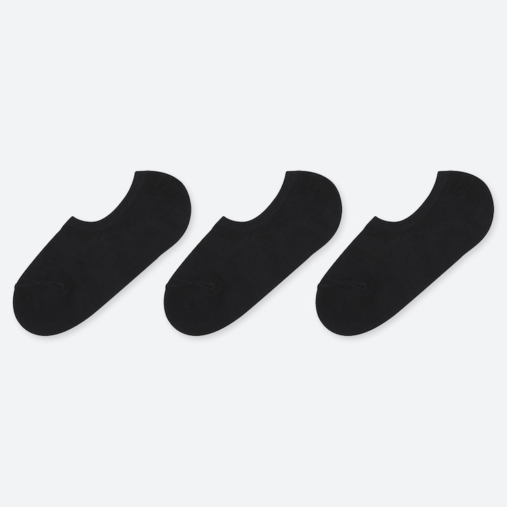 WOMEN MESH NO-SHOW LOW CUT SOCKS (THREE PAIRS)