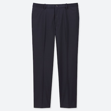 "MEN EZY ANKLE-LENGTH PANTS (TALL 31"") (ONLINE EXCLUSIVE), NAVY, medium"
