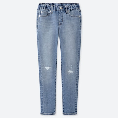 BOYS EASY ULTRA STRETCH DISTRESSED JEANS
