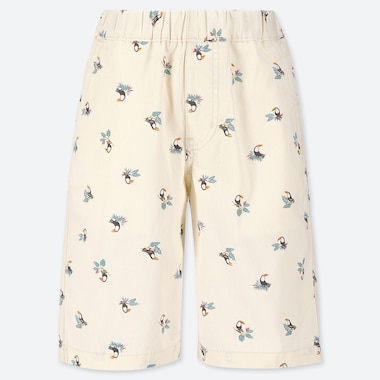 BOYS EASY BIRD PRINT SHORTS