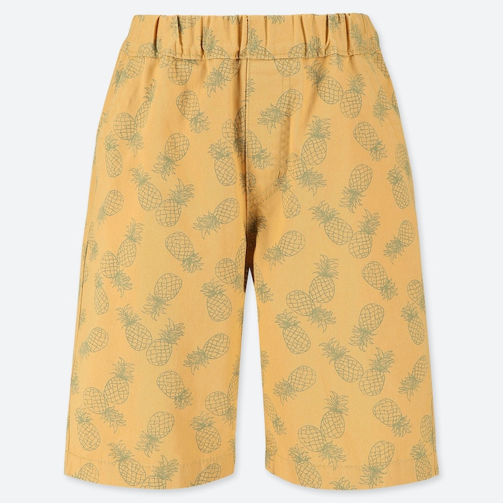 BOYS EASY SHORTS, YELLOW, large