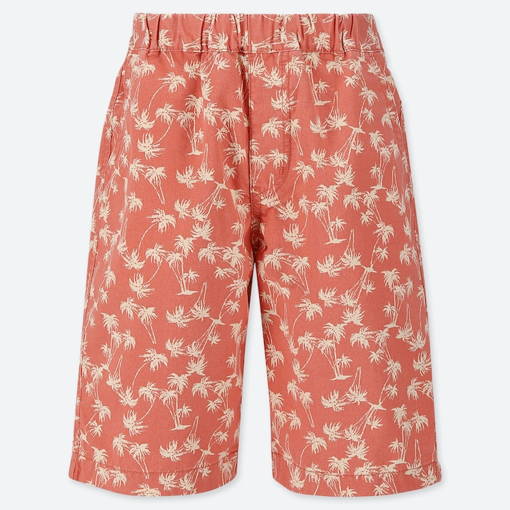 BOYS EASY PALM TREE PRINT SHORTS