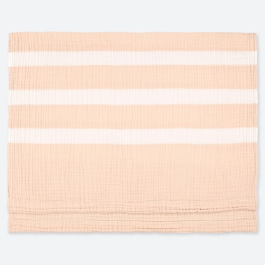 COTTON STRIPED SWADDLE BLANKET