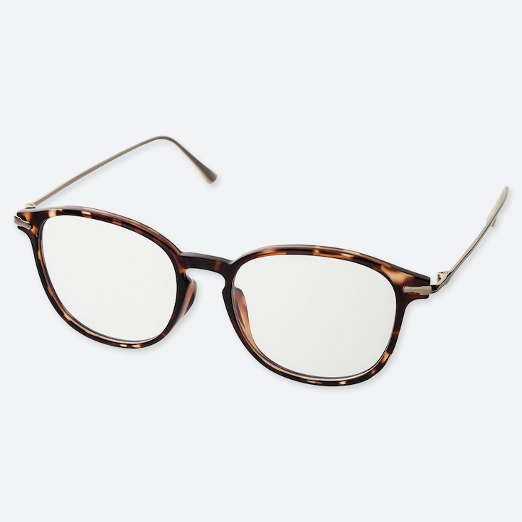 BOSTON COMBINATION CLEAR SUNGLASSES, BROWN, large