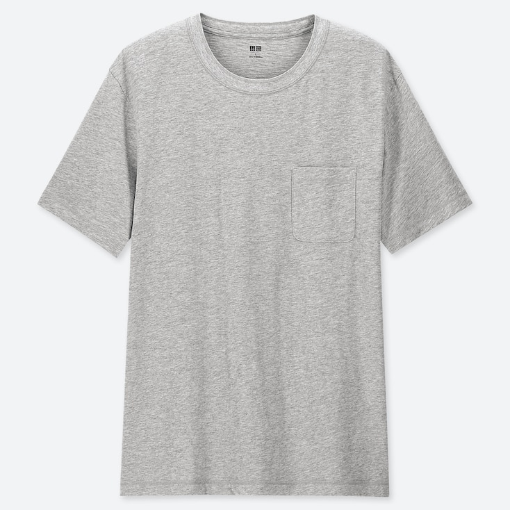 690c115b6175 MEN SLUB CREW NECK POCKET SHORT SLEEVED T-SHIRT | UNIQLO UK