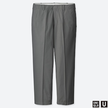 PANTALON À PLIS UNIQLO U COUPE REGULAR 7/8ÈME HOMME