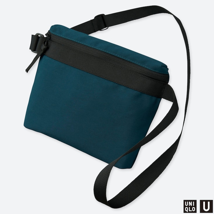 U MINI SHOULDER BAG, BLUE, large