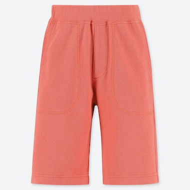 BOYS JERSEY EASY SHORTS, ORANGE, medium