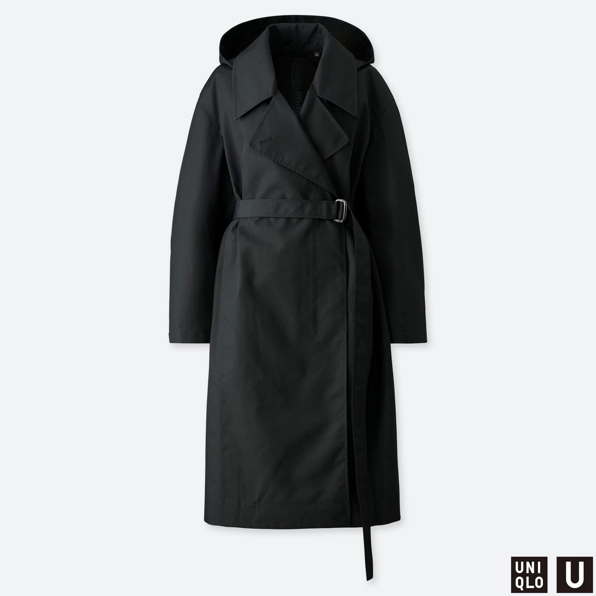DAMEN U BLOCKTECH MANTEL | Uniqlo women outfit, Uniqlo, Coat