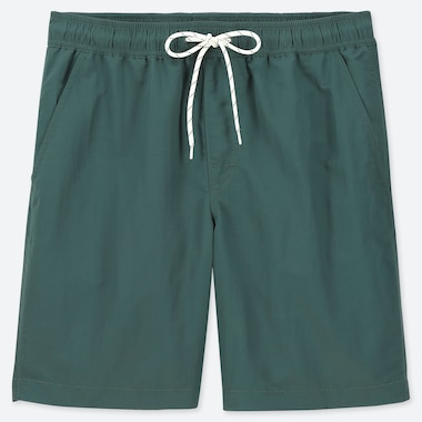 MEN SWIM ACTIVE SHORTS, DARK GREEN, medium