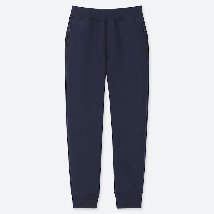 KIDS DRY STRETCH SWEATPANTS, NAVY, large