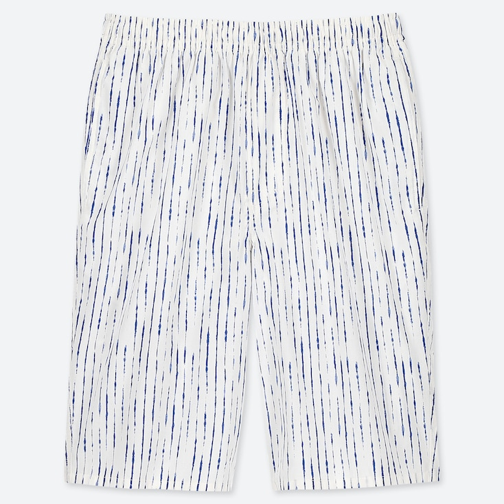 MEN LIGHT COTTON EASY SHORTS (ONLINE EXCLUSIVE), OFF WHITE, large