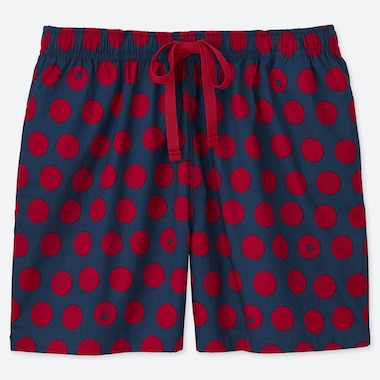 WOMEN KAMAWANU COTTON TOMATO PRINT RELACO SHORTS