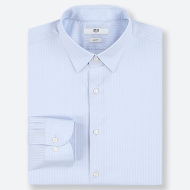 MEN EASY CARE DOBBY STRETCH SLIM FIT SHIRT (REGULAR COLLAR)