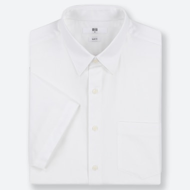MEN DRY EASY CARE SLIM-FIT SHORT-SLEEVE SHIRT (ONLINE EXCLUSIVE), WHITE, medium