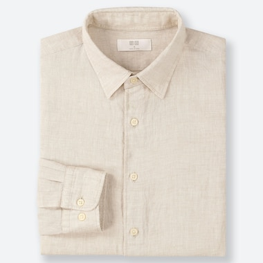 MEN PREMIUM LINEN SHIRT (REGULAR COLLAR)