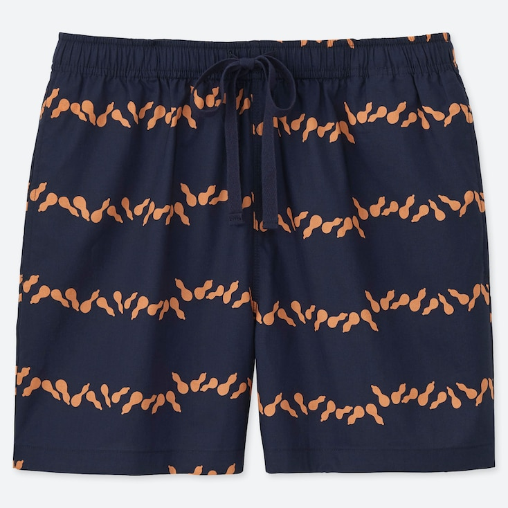 WOMEN KAMAWANU COTTON HYOTAN PRINT RELACO SHORTS
