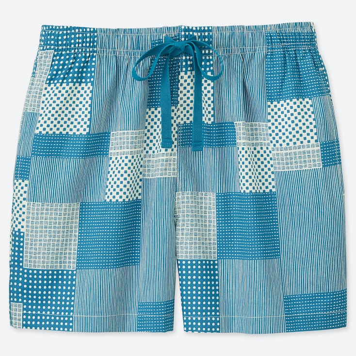 WOMEN KAMAWANU COTTON RELACO SHORTS, BLUE, large