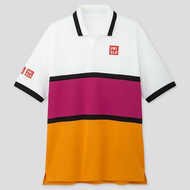 MEN DRY-EX POLO SHIRT (KEI NISHIKORI 19US), OFF WHITE, medium