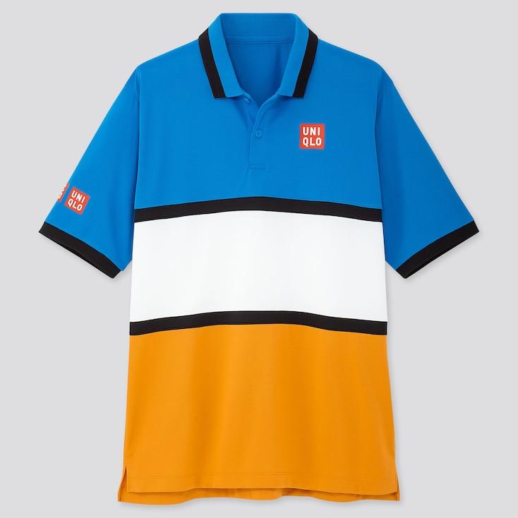 Men Kei Nishikori Dry Ex New York 2019 Polo Shirt by Uniqlo