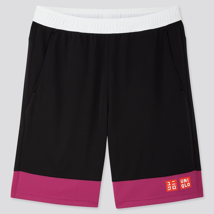 MEN DRY SHORTS (KEI NISHIKORI 19US), PINK, large