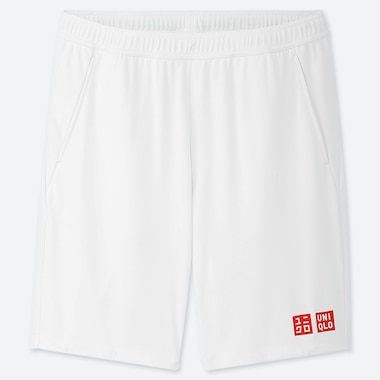 MEN DRY SHORTS (KEI NISHIKORI 19WB), WHITE, medium