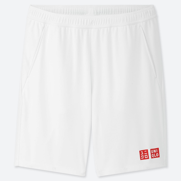 MEN DRY SHORTS (KEI NISHIKORI 19WB), WHITE, large