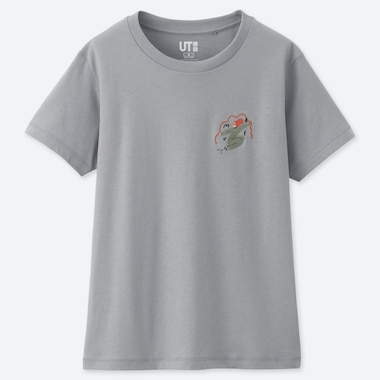 WOMEN AND HAVE FUN ! BY GRACE LEE UT (SHORT-SLEEVE GRAPHIC T-SHIRT), GRAY, medium