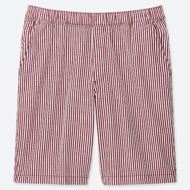 MEN DRY STRETCH STRIPED LOUNGE SHORTS