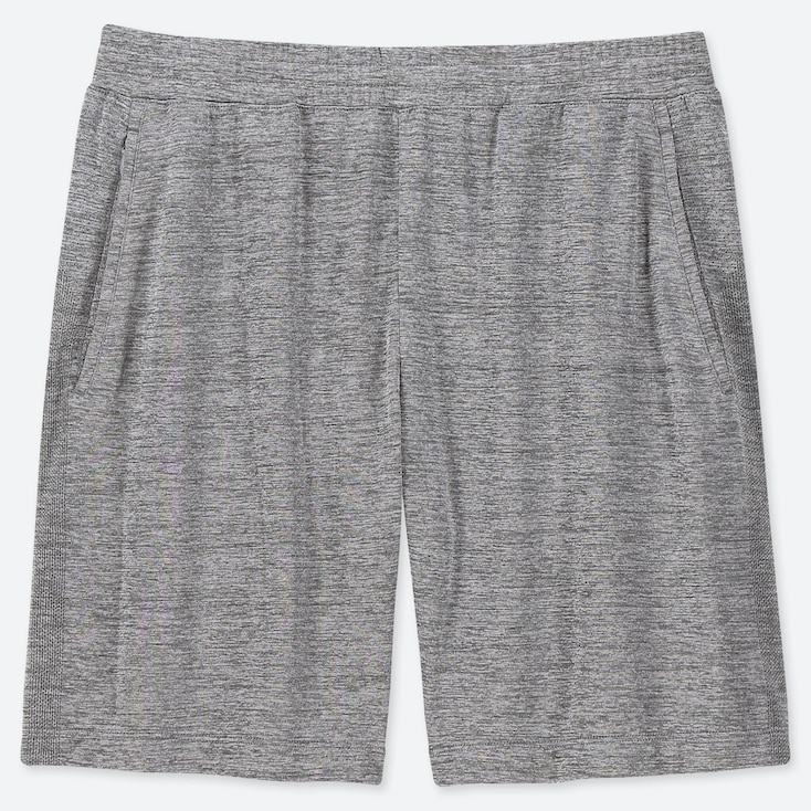 MEN DRY-EX SHORTS, GRAY, large