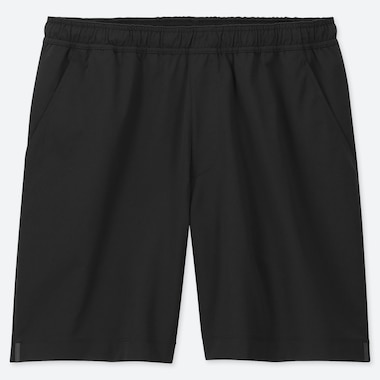 MEN ULTRA STRETCH ACTIVE SHORTS, BLACK, medium