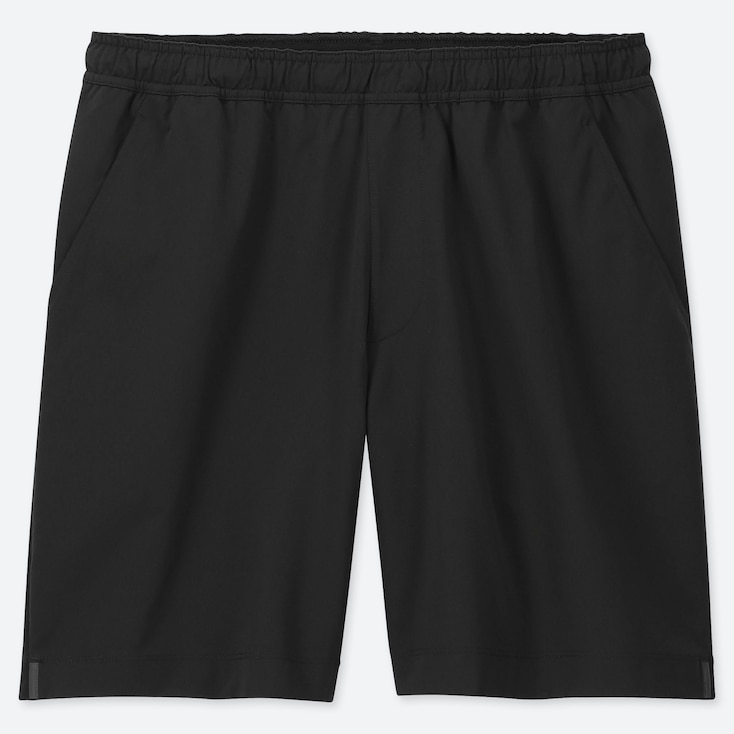 MEN ULTRA STRETCH ACTIVE SHORTS, BLACK, large