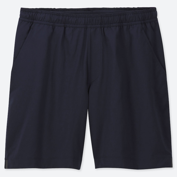 MEN ULTRA STRETCH ACTIVE SHORTS, NAVY, large