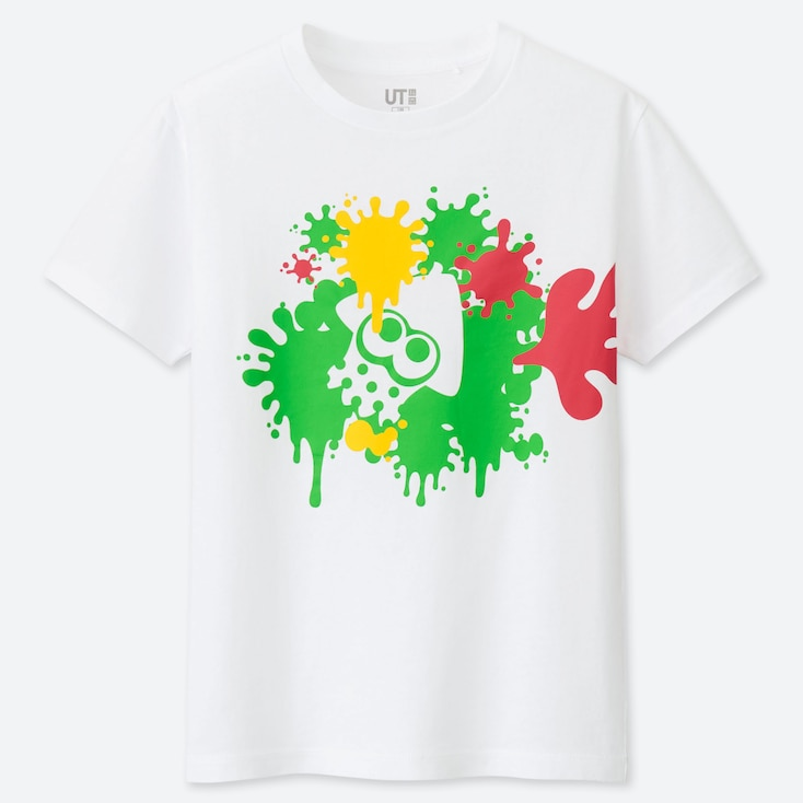 KIDS NINTENDO SPLATOON UT GRAPHIC T-SHIRT