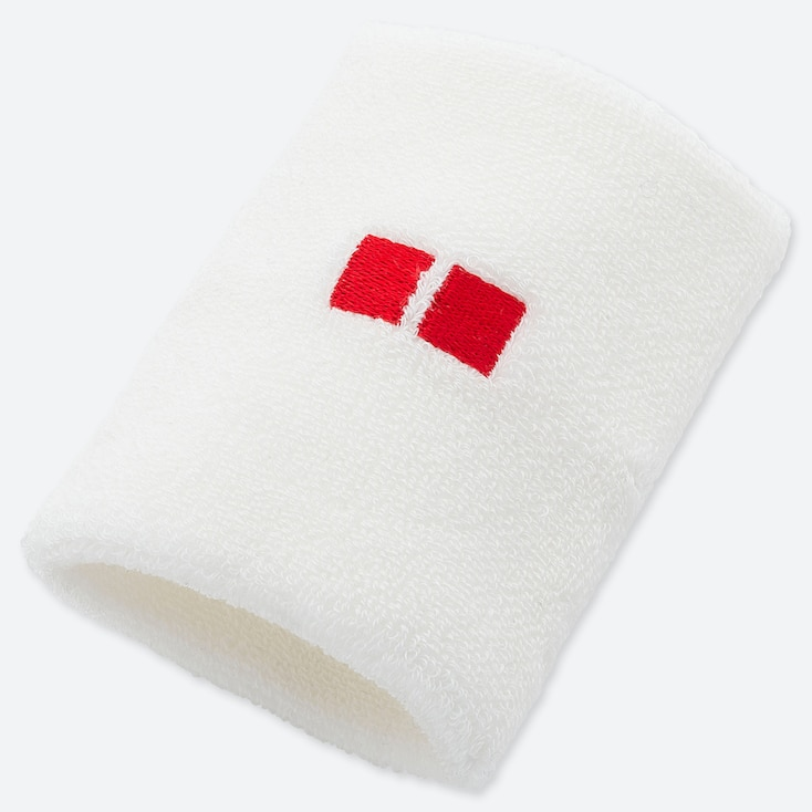 TENNIS WRISTBAND (KEI NISHIKORI) (ONLINE EXCLUSIVE), WHITE, large