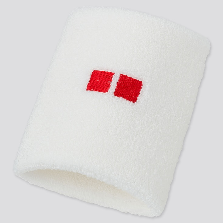 TENNIS WRISTBAND (KEI NISHIKORI 19US), WHITE, large