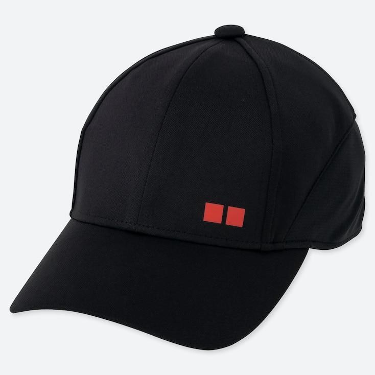 TENNIS CAP (KEI NISHIKORI) (ONLINE EXCLUSIVE), BLACK, large