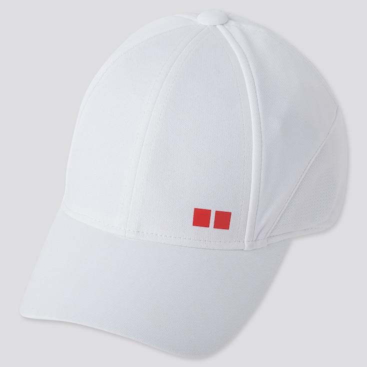TENNIS CAP (KEI NISHIKORI 19US), WHITE, large