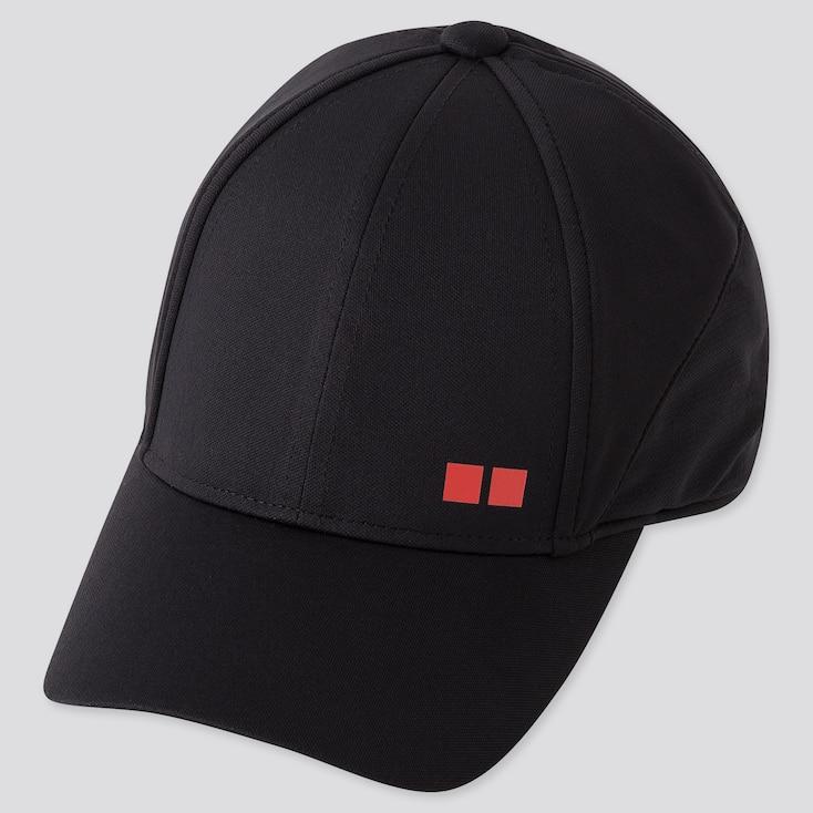 TENNIS CAP (KEI NISHIKORI 19US), BLACK, large