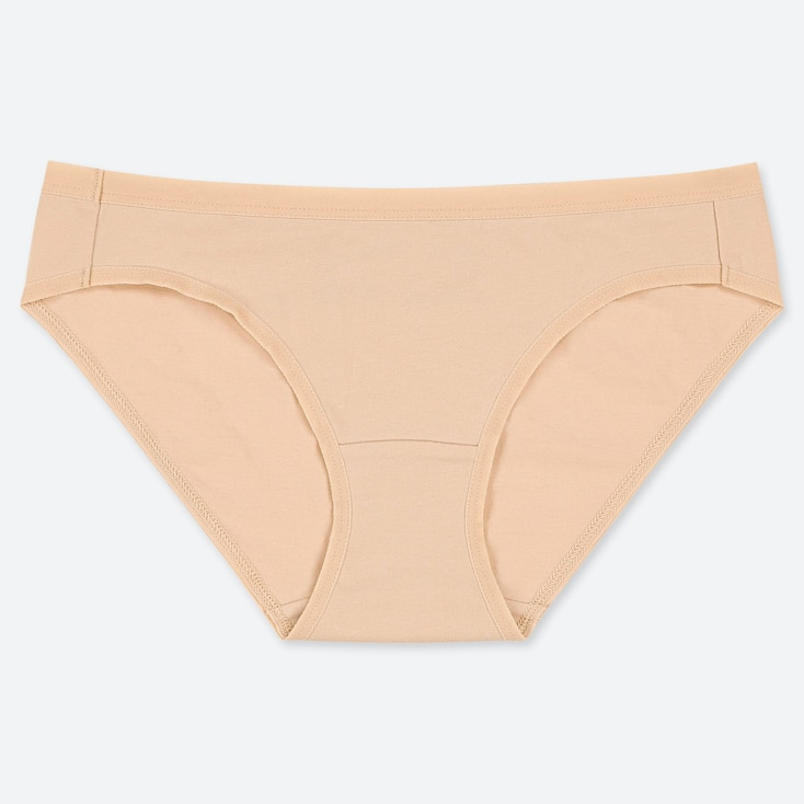 WOMEN BASIC BIKINI, NATURAL, large