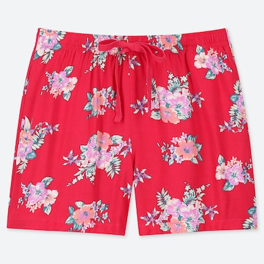 WOMEN RELACO SHORTS, RED, medium