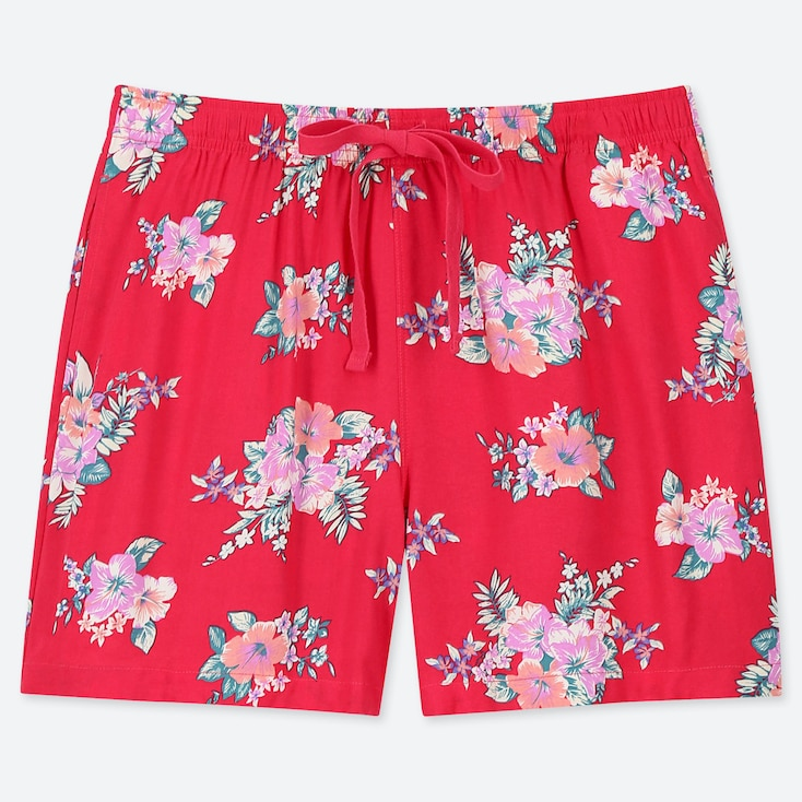 WOMEN RELACO FLORAL PRINT SHORTS
