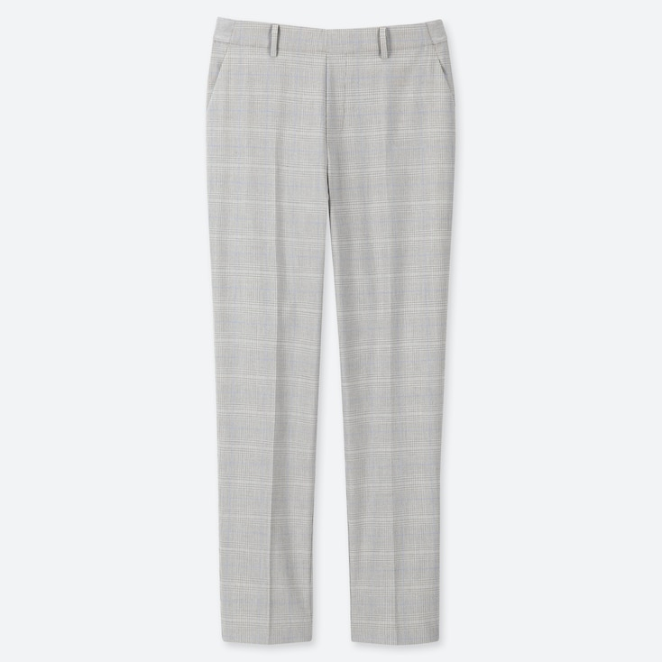 WOMEN EZY PRINTED ANKLE LENGTH TROUSERS (L30)