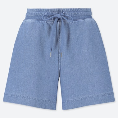 SHORTS DENIM JERSEY DONNA