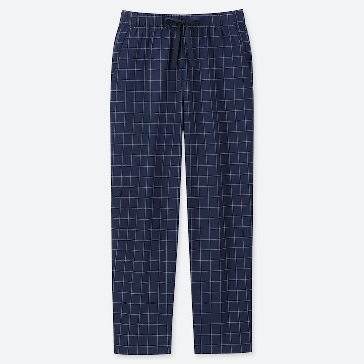 WOMEN RELAX CHECKED ANKLE LENGTH TROUSERS