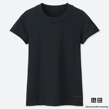 WOMEN ALEXANDER WANG AIRISM SEAMLESS SHORT SLEEVED T-SHIRT