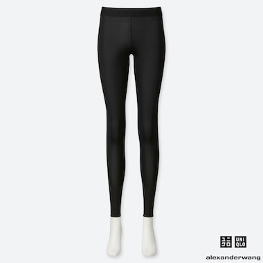 WOMEN AIRism LEGGINGS (ALEXANDER WANG), BLACK, medium